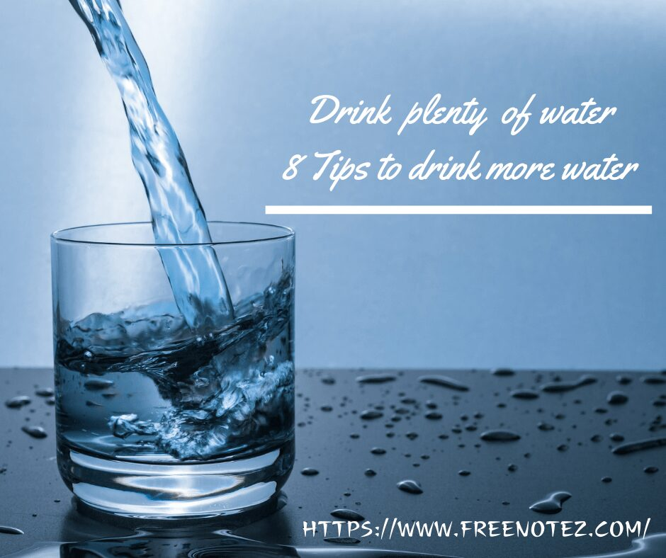 8 tips of drinking water