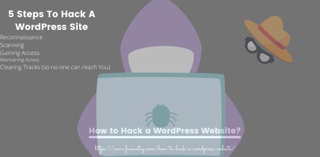 How to Hack a WordPress Website, 5 ways to hack a website