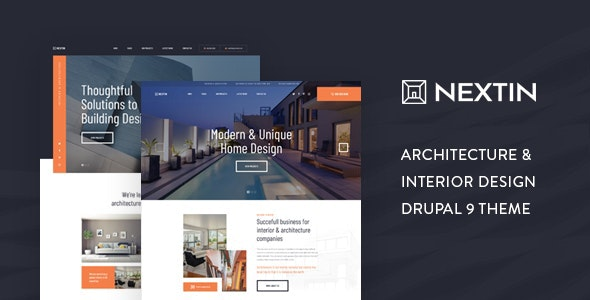 Free Download Next in - Architecture & Interior Drupal Theme 2021