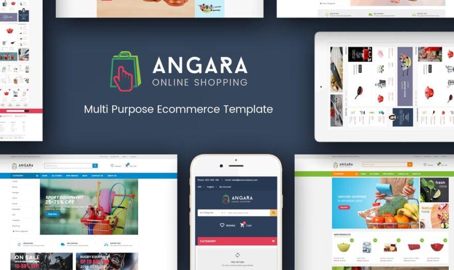 Angara Magento Theme Free Download