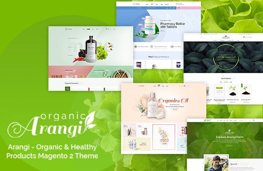 Arangi Organic Magento 2 Theme Free Download