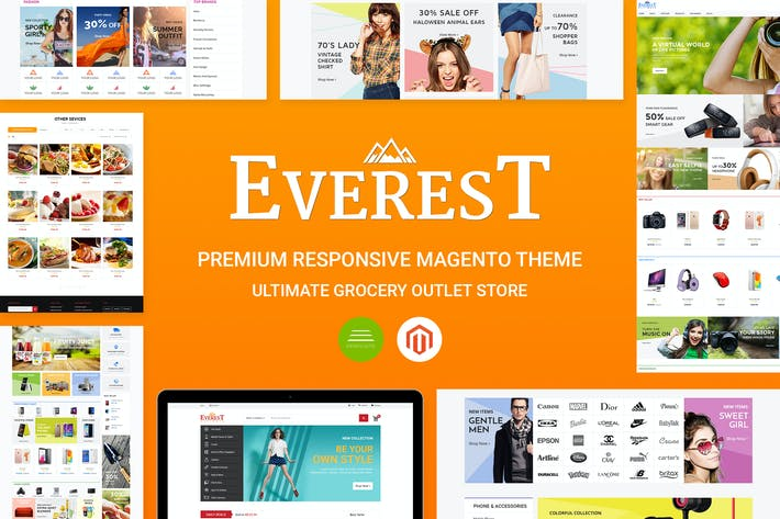 Everest Magento Theme Free Download CE 1.9.x