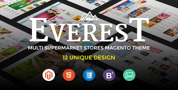 Everest Magento Theme Free Download