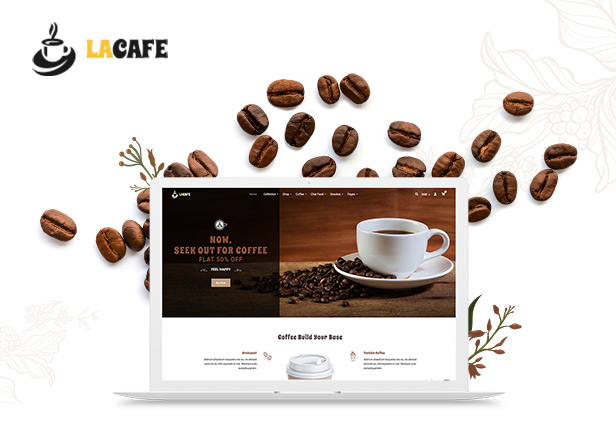 LaCafe Free Download - Coffee Shop Shopify Store nulled 2021