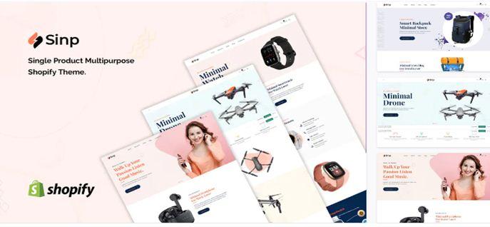 Sinp Shopify Theme Free Download