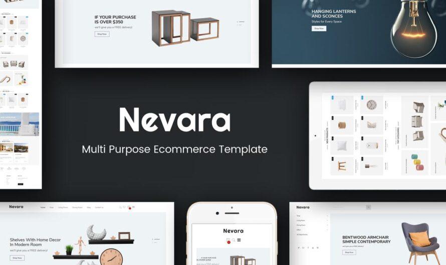 Nevara Magento Theme Free Download- Furniture & Interior