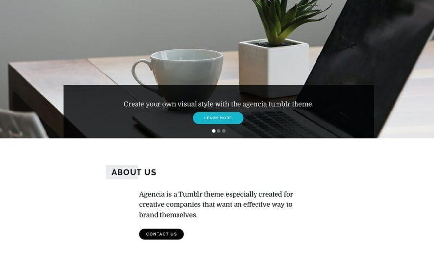 Agencia Tumblr Theme Free Download
