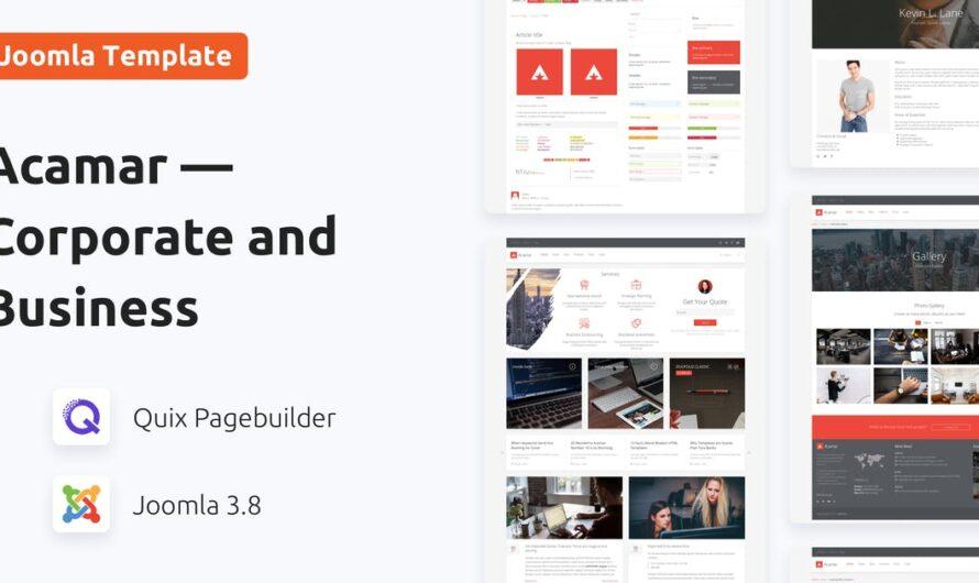 Acamar Joomla Template Free Download