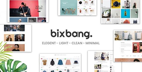 Bixbang pro | Minimalist eCommerce Shopify Template Free Download