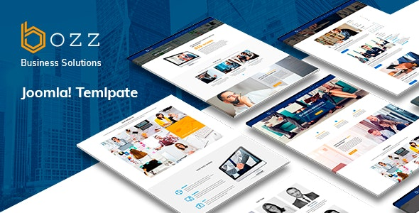 Bozz Corporate and Business Responsive Template