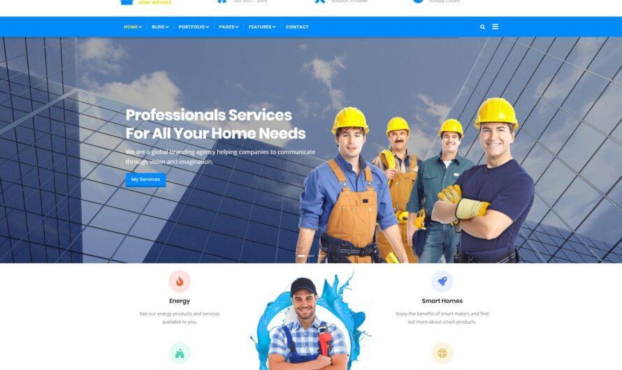 Castron Drupal Theme Free Download- Home Maintenance