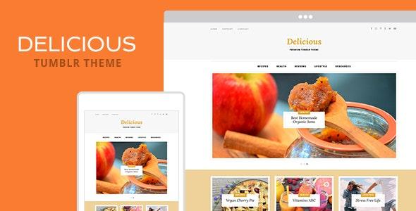 Delicious Tumblr Theme Free Download