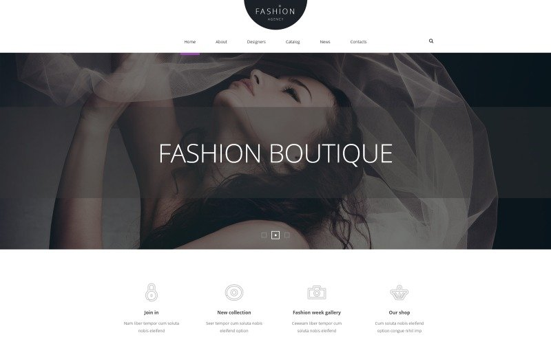 Fashion Joomla Template Free Download