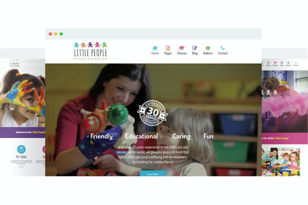 Little People Joomla Template Free Download