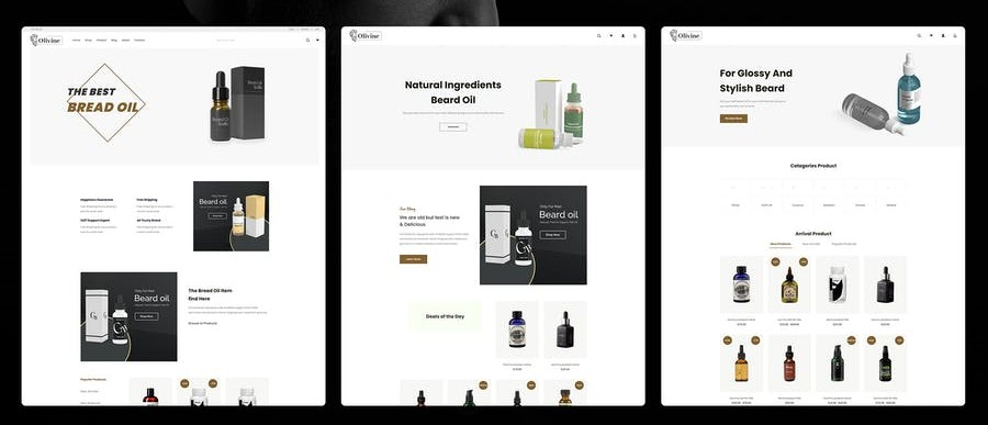 Olivine Shopify Theme Free Download