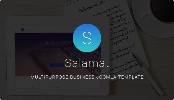 Salamat Pro Free Download- Multipurpose Business Joomla Template