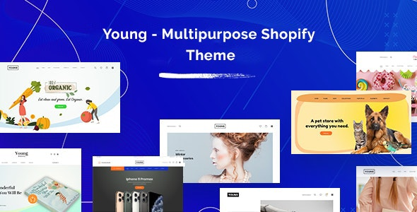 Young v1.o Pro Nulled- Multipurpose Shopify Theme