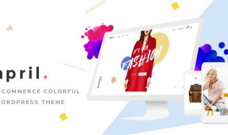 APRIL v5.0 – Wonderful Fashion WooCommerce WordPress Theme