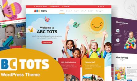 Abc Tots - Kindergarten WordPres Theme