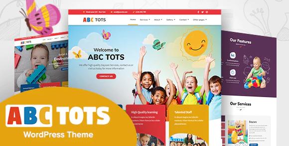 Abc Tots v1.6.5 - Kindergarten WordPress Theme
