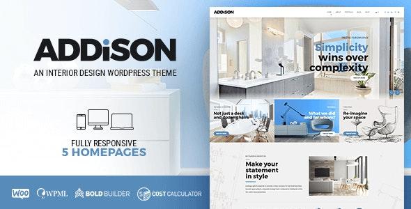 Addison v1.3.0 – Architecture & Interior Design