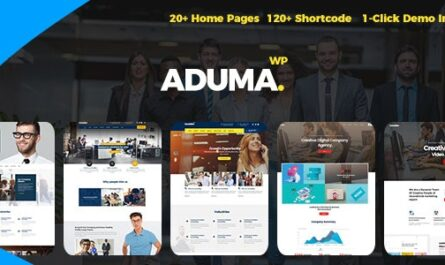 Aduma 1.3.2 – Consulting, Finance WordPress Theme
