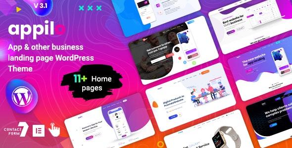 Appilo v5.6 – App Landing Page