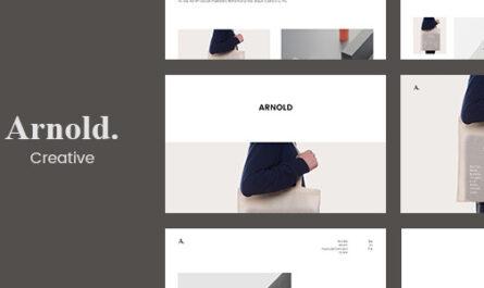 Arnold 2.1.3 – Minimal Portfolio WordPress Theme