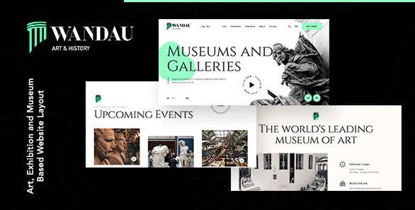 Art & History Museum WordPress Theme v1.0.0