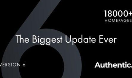 Authentic v6.2.7 – Lifestyle Blog & Magazine Theme