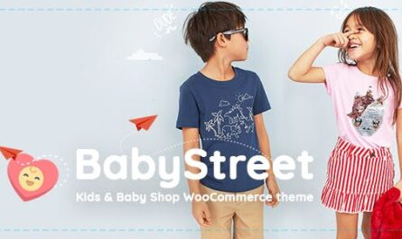 BabyStreet v1.5.0 – WooCommerce Theme for Kids Stores and Baby Shops Clothes and Toys