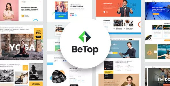 BeTop v1.0.9 – Coaching & Speaker WordPress Theme
