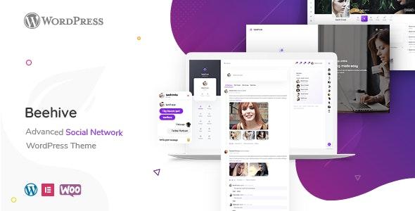 Beehive 1.4.2 – Social Network WordPress Theme