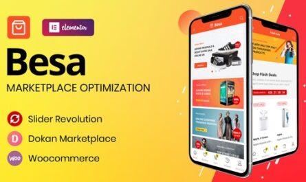 Besa v1.2.11 – Elementor Marketplace WooCommerce Theme