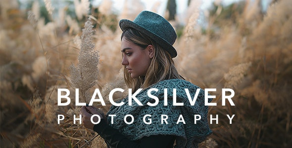 Blacksilver v8.5.3 – Photography Theme for WordPress