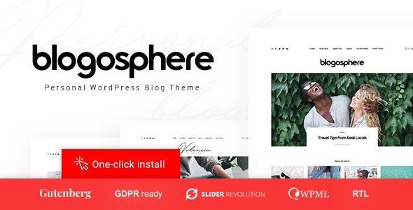 Blogosphere v1.0.7 – Multipurpose Blogging Theme