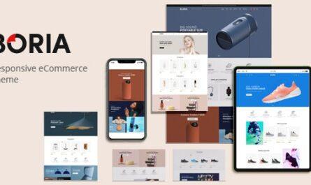 Boria v1.0.1 – Multipurpose WooCommerce WordPress Theme