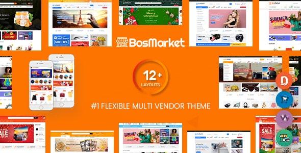 BosMarket v1.9.5 – Flexible Multivendor WooCommerce WordPress Theme