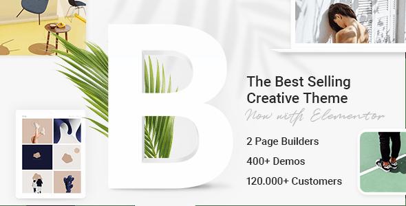 Bridge v25.6 – Creative Multi-Purpose WordPress Theme