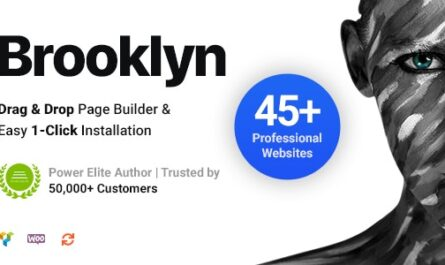 Brooklyn v4.9.6.4 – Creative Multi-Purpose Responsive WordPress Theme