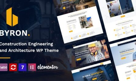 Byron v1.5 – Construction and Engineering WordPress Theme