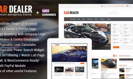 Car Dealer v1.7.0 – Automotive Responsive WordPress Theme