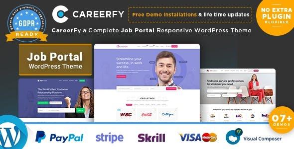 Careerfy Nulled free download- Job Board WordPress Theme v6.4.0 - WordPress Theme, Plugins, PHP Script, HTML Templates
