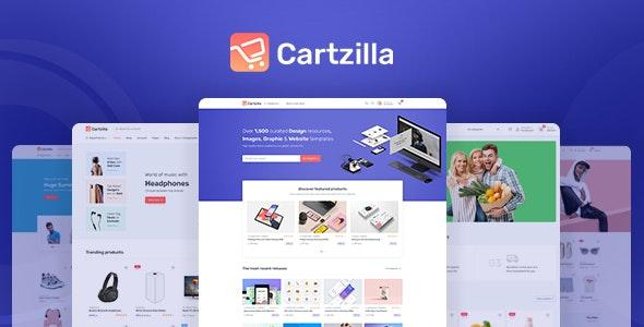 Cartzilla v1.0.9 – Digital Marketplace & Grocery Store WordPress Theme