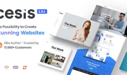 Cesis v1.8.7.20 – Responsive Multi-Purpose WordPress Theme