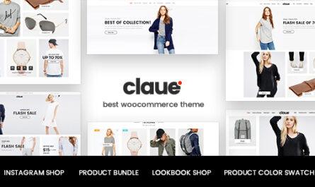Claue v2.1.2 – Clean, Minimal WooCommerce Theme