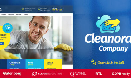Cleanora Nulled v1.0.7 – Cleaning Services Theme - WordPress Theme, Plugins, PHP Script, HTML Templates