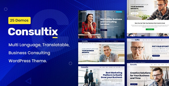 Consultix v3.0.1 – Business Consulting WordPress Theme