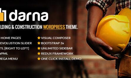 Darna v1.2.7 – Building & Construction WordPress Theme