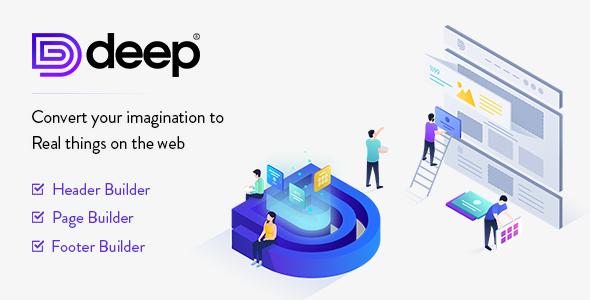Deep 4.5.7 Nulled – Premium WordPress Theme